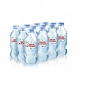 """Вода питьевая """"Святой Источник"""", негаз., упаковка 12 бутылок по 0.33л , ст.1"""