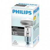 Лампа рефлекторная (зеркальная) Philips R63 60W E27 ст.1