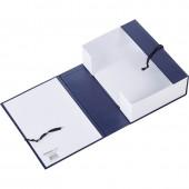 Папка-короб архивный 100мм, бумвинил, на завязках, ст.3