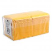 Салфетки Aster Profi Pack, 1сл. 24*24, 400л, желтые, ст.1
