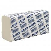 """Полотенца бумажные для держателей """"Aster Pro"""", 2-слойные, белые, Z-слож., 150 лист.,  ст.1"""