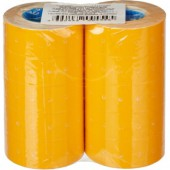 Этикет-лента 21,5х12, прямая, оранжевая ,1000шт/рул 10рул/уп, ст.1000