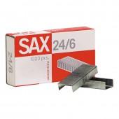 Скобы для степлера №24/6 Sax, ст.20