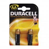 Элементы питания батарейка Duracell AA/316/LR6, алкалиновые, 2шт/уп , ст.20