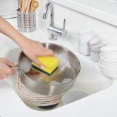 Губка д/посуды 3М Scotch-Brite, с выемкой для пальцев, 8шт./уп., ст.1