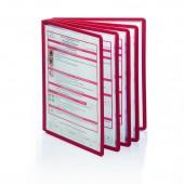 Демо-панель Durable 5606-07, красная, для демо-системы, 5шт./уп., ст1