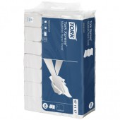 """Полотенца бумажные для держателей """"Tork"""" Advanced""""/""""Lotus """", 471117, 2-слойные, белые с тисн., Z-слож, 20шт/уп,"""