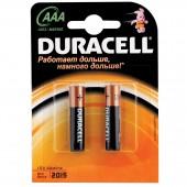Элементы питания батарейка Duracell AAА/286/LR03, алкалиновые, 2шт/уп ст.1