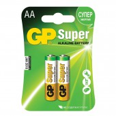 Элементы питания батарейка GP Super, AA/316/LR6, алкалиновые, 2 шт./уп., ст.1