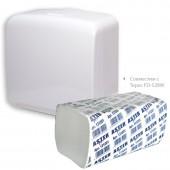 """Полотенца бумажные для держателей """"Aster Pro"""", 2-слойные, 20пач/упак,белые с тисн., zz-сложение200"""