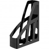 Лоток вертикальный Стамм, лт-128, Лидер, 75мм, черный, 2шт/уп.,