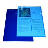 Папка-уголок Sponsor, А4, пластик, 180 мкм, жесткая, прозрачная