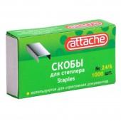 "Скобы №24/6 для степлера "" Attache"", ст.10"
