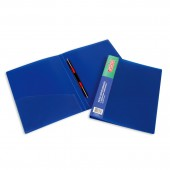 Скоросшиватель пластик, А4, с пруж. зажимом Attache 17mm F612/07, 150 л., синий, ст.1