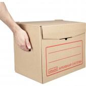 "Короб архивный 400х335х265мм, ""Attache"" на 5 папок по 75мм, ст.1"