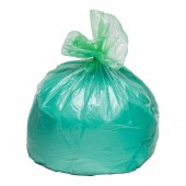 Пакеты для мусора,  60л, 30шт/уп, ПНД, Attache, 10мкм, зеленые, ст.1