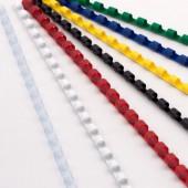 Пружина для переплета Profi Office, пластик, 10 мм, 100шт/уп