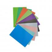 Картон цветной, набор А4, 10л, 20цв, двухсторонний, ст.1
