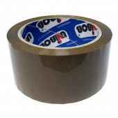 Скотч упаковочный коричн., 50х66, 45мкм, Unibob 600, ст.36