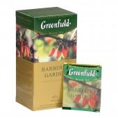 Чай черный Greenfield Barberry garden, цейлонск, фольгир. 25 пак/уп., ст.1