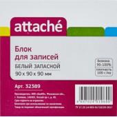 Блок для записей Attache, белый, в пленке, офсет 100 г