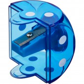 Точилка с контейнером, 1 отверстие, Attache Кубик, '042451403