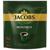 Кофе растворимый Jacobs Monarch, сублимированный, 500г, пакет, ст.1