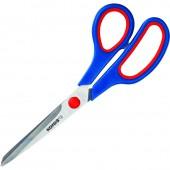 Ножницы 210 мм, Kores, c пластиковыми прорезиненными анатомическими ручками