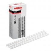 Пружина для переплета Pro Mega Office, пластик, 12 мм, 100шт/уп