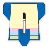Липкие блоки Hopax Stick'N, 76х76мм, пастель, 100 л