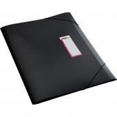 "Папка на резинке, пластик, А3, ""Attache"",  черная, корешок 30мм, ст.2/40"