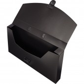 Папка-портфель пластик Attache, А4, с замком, 250х370х40 мм