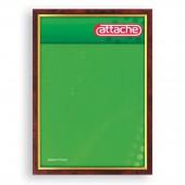 Рамка для сертификатов Attache 30*40см (А3), пластиковый багет, темная, ст.1
