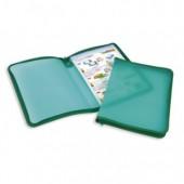 Папка-конверт на молнии Attache, молния с 3-х сторон, А4, пластик