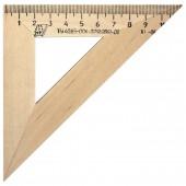 Угольник 11см, 45*45, деревянный, ст.1