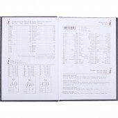 Ежедневник н/дат. А5, Attache Ideal, черный, 145х205, 136л,ст. 1