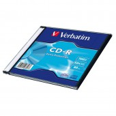 Диск CD-R Verbatim 80 52x DL SL/1, ст.1