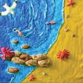 Пластилин  8цв, Jovi, набор для лепки (пластилин, скалка, 12форм) уп. пласт.чемоданчик, ст.1