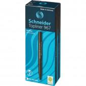 Линер Schneider Topliner 967/1, черный, ст.1