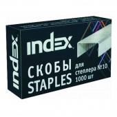 """Скобы для степлера №10, """"Index"""", ст.20"""