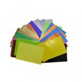 Бумага цветная А4, набор 20л, 20цв, Альт, глянцевая, металл, в папке, ст.30