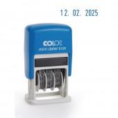 Датер автоматический, мини, пластик, Colop S120Bank (4810B), шрифт 3,8мм, месяц цифр. ст.1