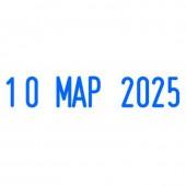 Штамп датер автоматический Colop S220/Trodat4820, шрифт 4мм, месяц буквами, ст.1