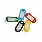 Брелоки для ключей 10 шт/уп, цветные, 5 цв. По 2 шт. ст.1