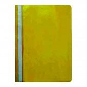 Скоросшиватель пластик, А4, Sponsor, желтый, ст.20