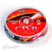 Диск CD-R VS, 700Mb 52x, на шпинделе 10шт./уп., ст.1