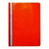 Скоросшиватель пластик, А4, Sponsor, оранжевый, ст.20
