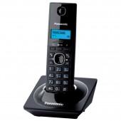 Радиотелефон Panasonic KX-TG1711RUB(черный), АОН, тел.книг(50ном), ст.1