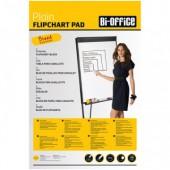 Блок бумаги для флипчартов, Bi-Office, 20л/белый, 650*980, ст1