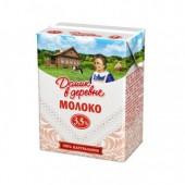 Молоко Домик в деревне 3,5% 0,2л 18шт/уп ст.1